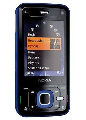 Фото Nokia N81