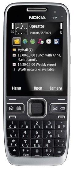 Фото Nokia E55