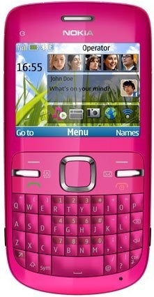 Фото Nokia C3