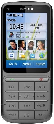Фото Nokia C3-01 Touch and Type
