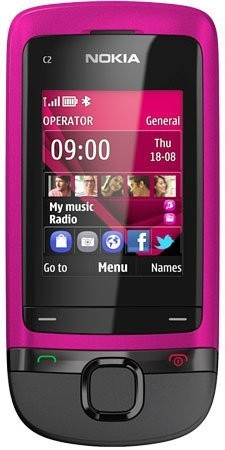 Фото Nokia C2-05 Touch and Type
