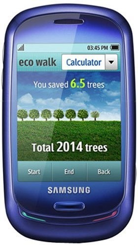 Фото Samsung S7550 Blue Earth