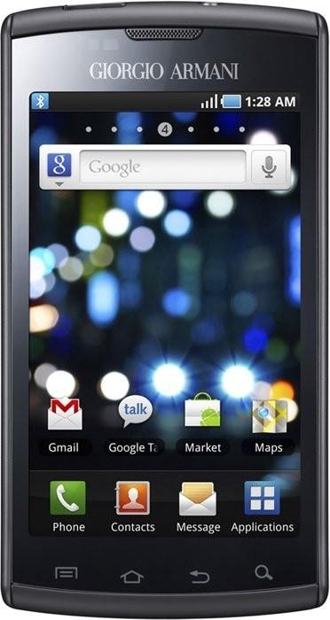 Фото Samsung I9010 Galaxy S Giorgio Armani
