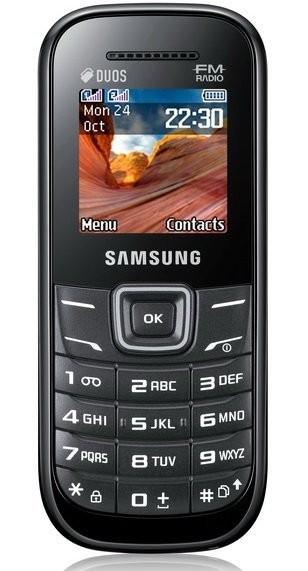 Фото Samsung E1207T