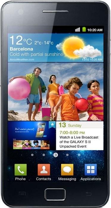 Фото Samsung I9100 Galaxy S II