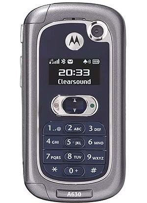 Фото Motorola A630