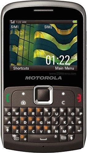 Фото Motorola EX112