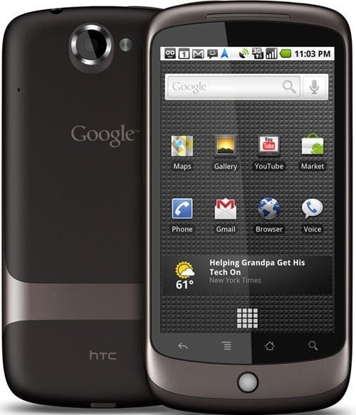 Фото HTC Google Nexus One
