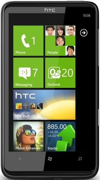 Фото HTC HD7