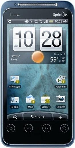 Фото HTC EVO Shift 4G