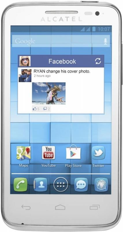 Фото Alcatel One Touch M-Pop 5020D