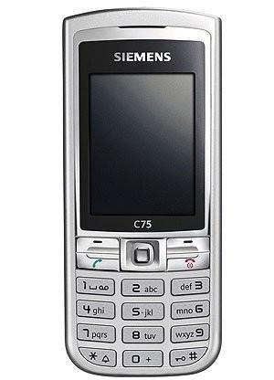 Фото Siemens C75