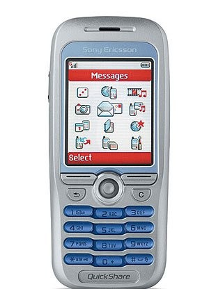 Фото Sony Ericsson F500i