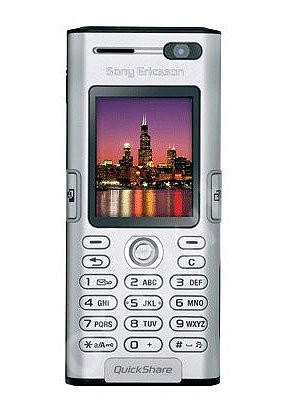 Фото Sony Ericsson K600i