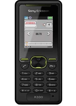 Фото Sony Ericsson K330