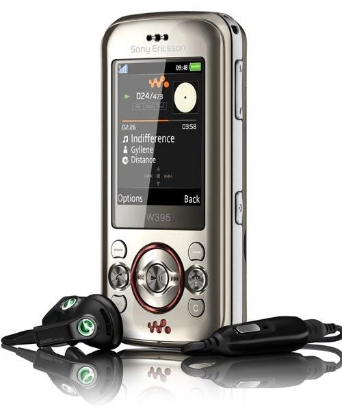 Фото Sony Ericsson W395