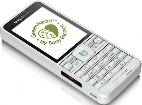 Фото Sony Ericsson C901 GreenHeart