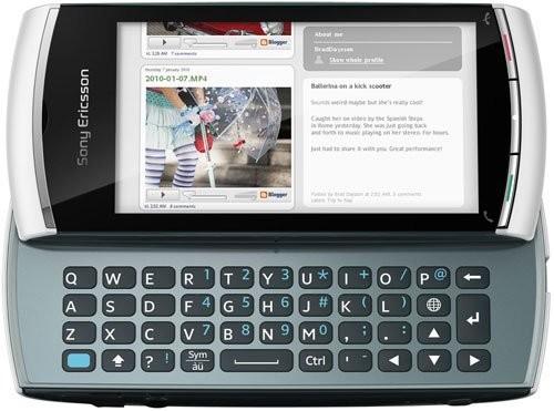 Фото Sony Ericsson Vivaz Pro