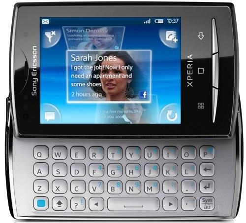 Фото Sony Ericsson Xperia X10 mini pro