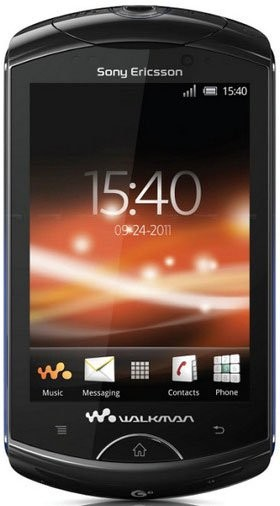 Фото Sony Ericsson WT18i