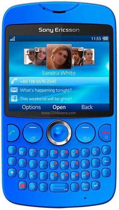 Фото Sony Ericsson txt