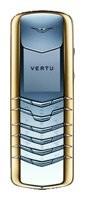 Фото Vertu Signature Stainless Steel with Yellow Metal Bezel