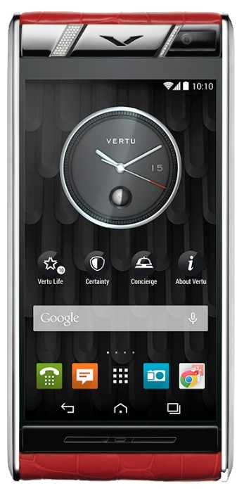 Фото Vertu Aster Diamonds Red Alligator