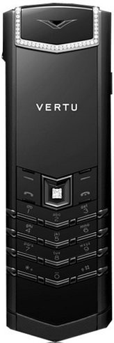 Фото Vertu Signature S Design Pure Black White Diamonds