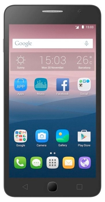 Фото Alcatel One Touch POP STAR 5022D