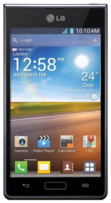 Фото LG P705 Optimus L7