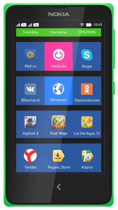 Фото Nokia X A110