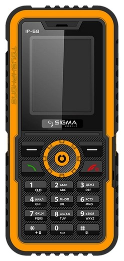 Фото Sigma mobile X-treme IP68