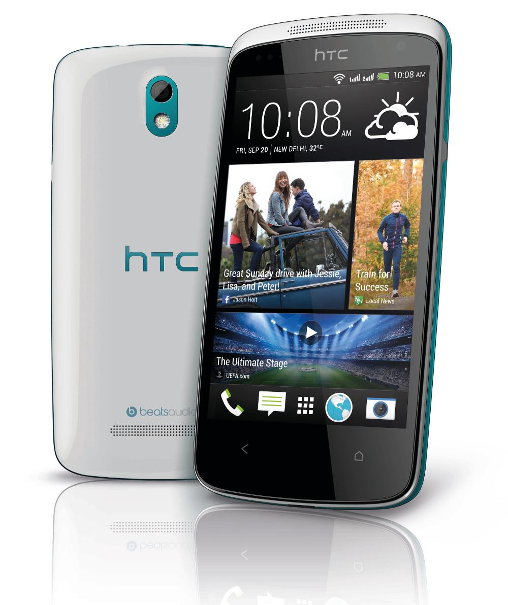Обзор Dual-sim смартфона HTC Desire 500: фото и видео - изображение
