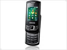 Фото и видео обзор Samsung Monte Slider E2550 - изображение