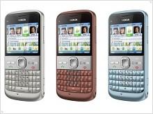 Фото и видео обзор Nokia E5 - изображение